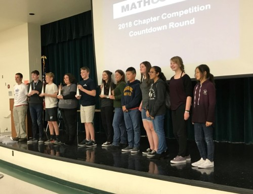 Creekside Middle Wins MathCounts Competition